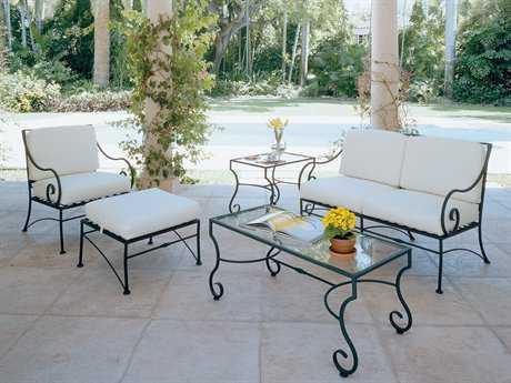 iron patio furniture wrought iron lounge sets JWTCXPK
