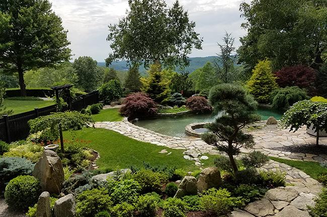 japanese garden japanese gardens at cedar hill LBQJJHE
