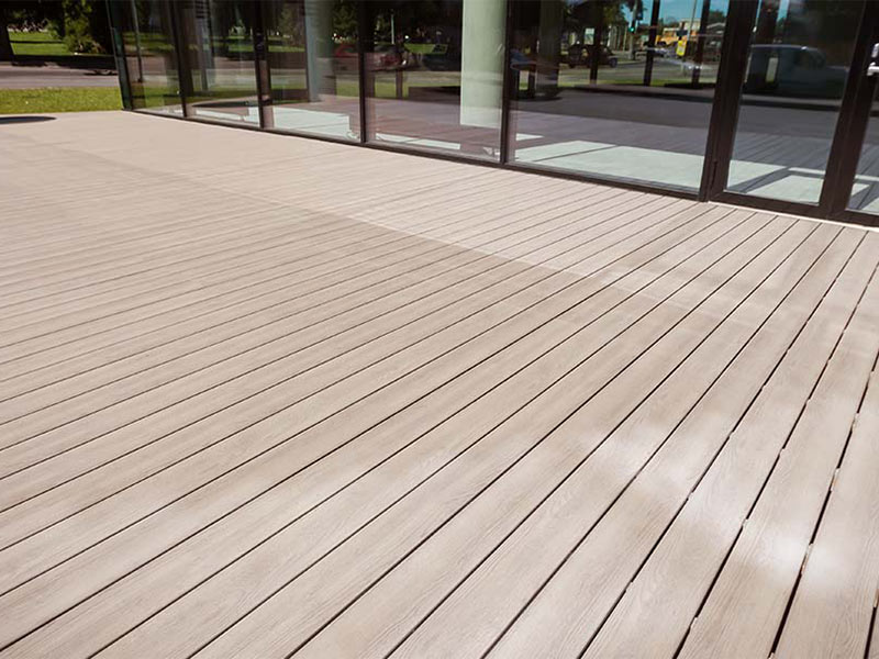 kedeck | recycled mixed plastic decking OCGONUB