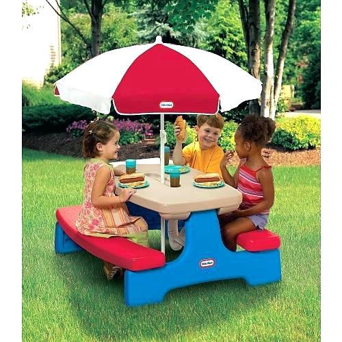kidkraft outdoor table kids garden furniture coolest within
