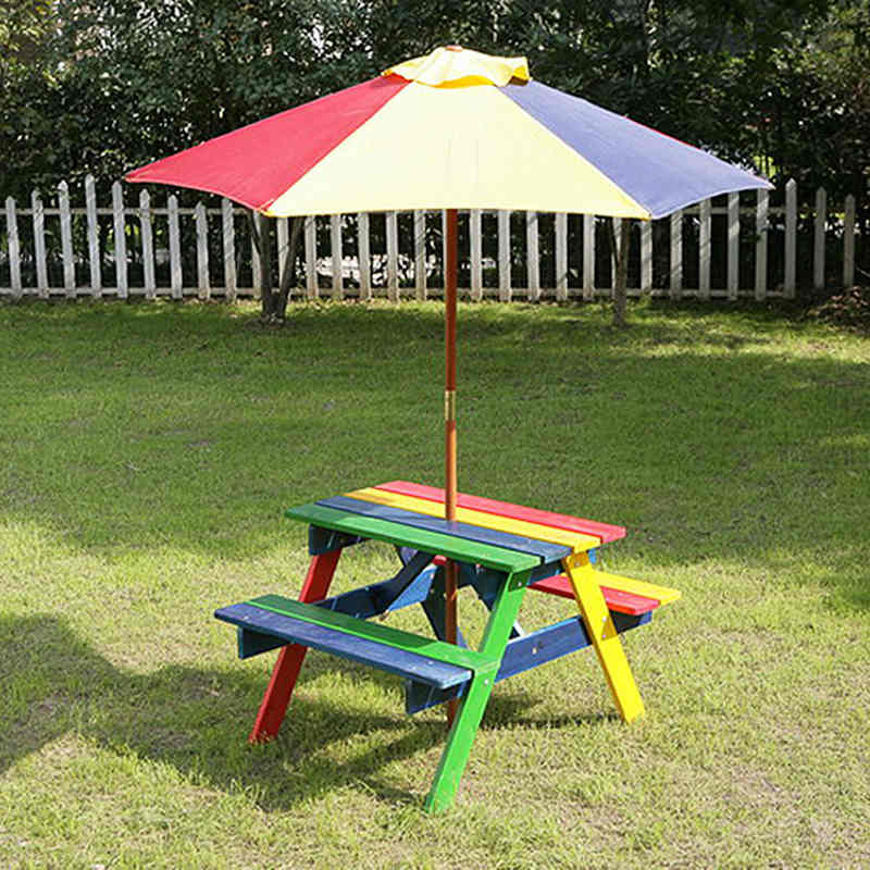 kids garden furniture colorful kids bench table KRMRWES