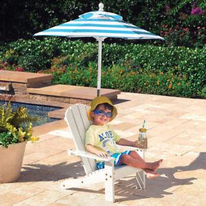 kids garden furniture image is loading kids-patio-furniture-chair-umbrella-children-039-s- TZCZCZP