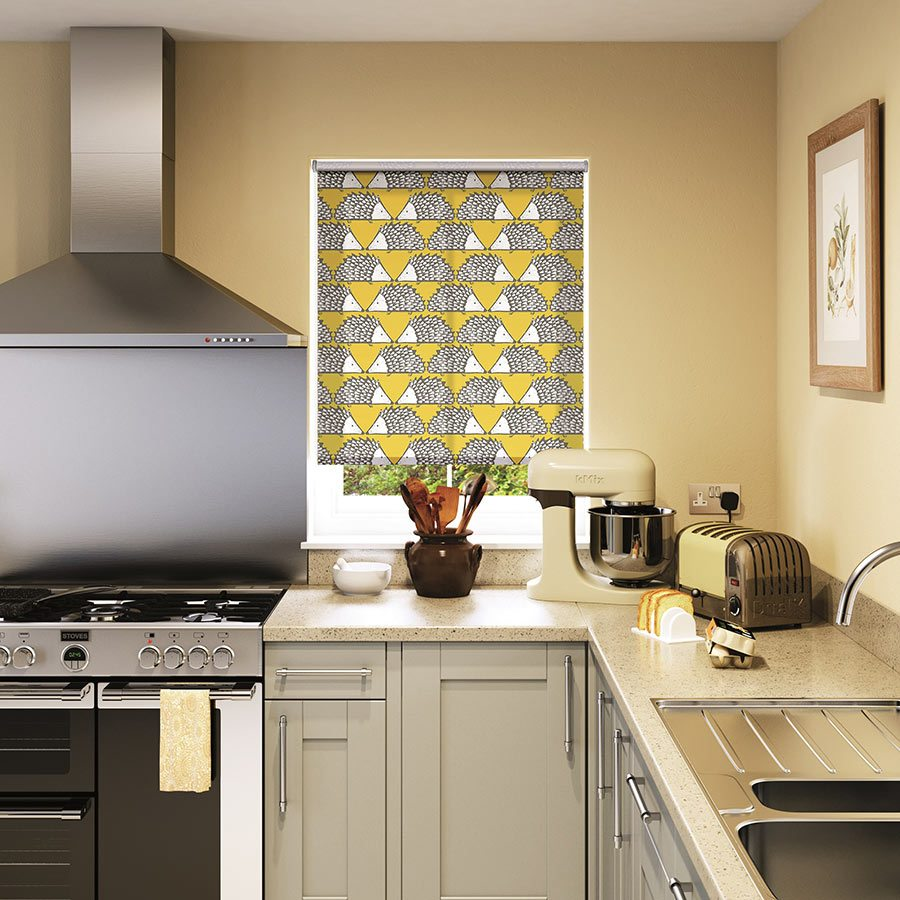 kitchen blinds expect to spend from £27.45 for a made-to-measure spike honey roller blind SVBHSCK