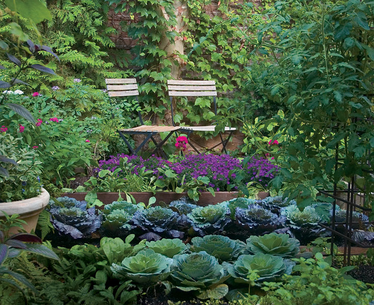 kitchen garden turn edible plantings into works of art with four design strategies GVQNUBP
