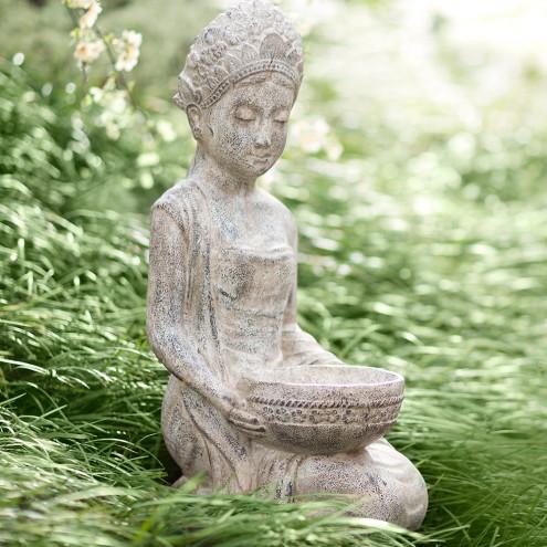 lakshmi garden statue and bath | vivaterra DDFRMKQ