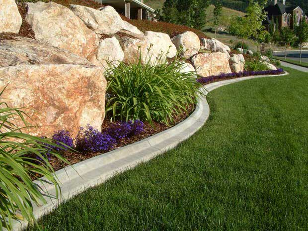 landscape edging ideas lawn edging ideas-3 MGVRWFP
