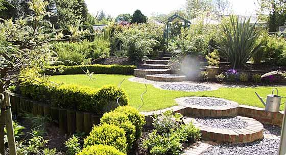 landscape garden design ideas ecbt QGPQEJJ