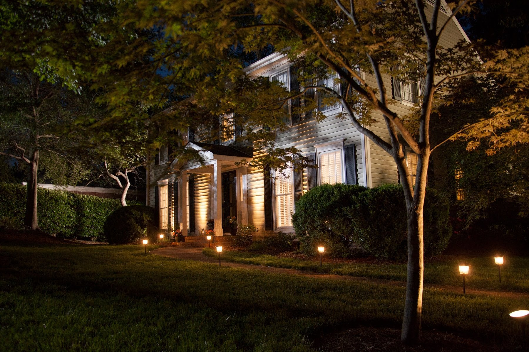 landscape lighting how to install landscaping lighting BKTGNPM