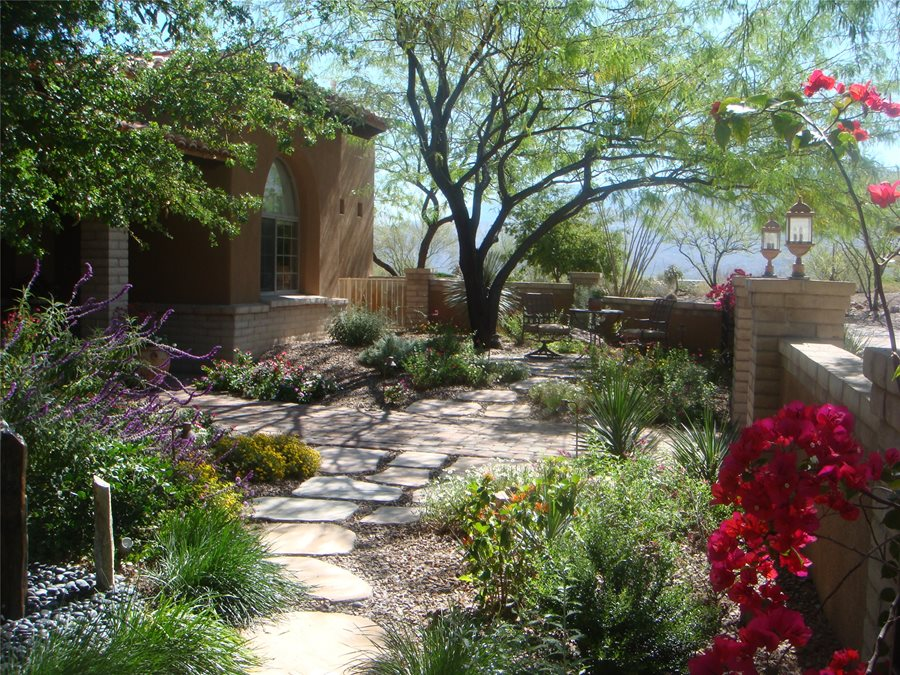 landscaping designs garden walkway walkway and path casa serena landscape designs llc las SKQGYMW