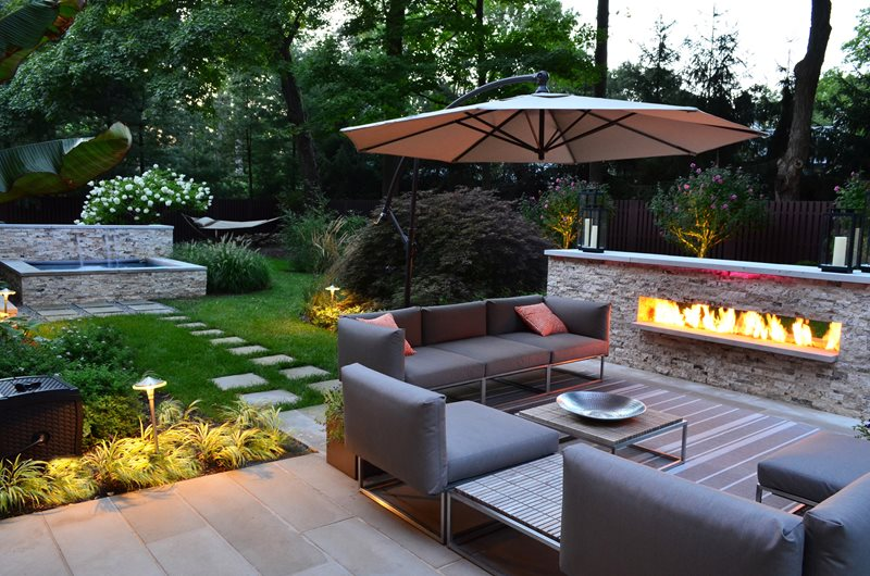 landscaping ideas for backyard backyard landscaping cipriano landscape design mahwah, nj OYDGWBU