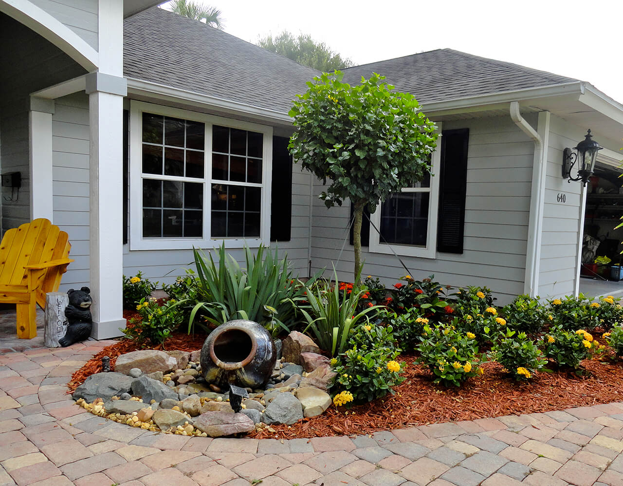landscaping ideas for front yard 2. mini water