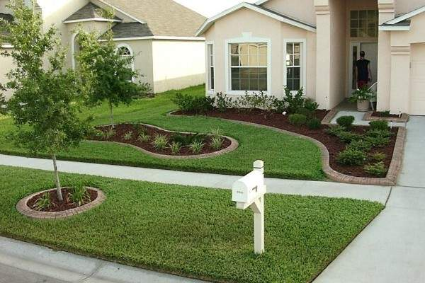 landscaping ideas for front yard decor of simple