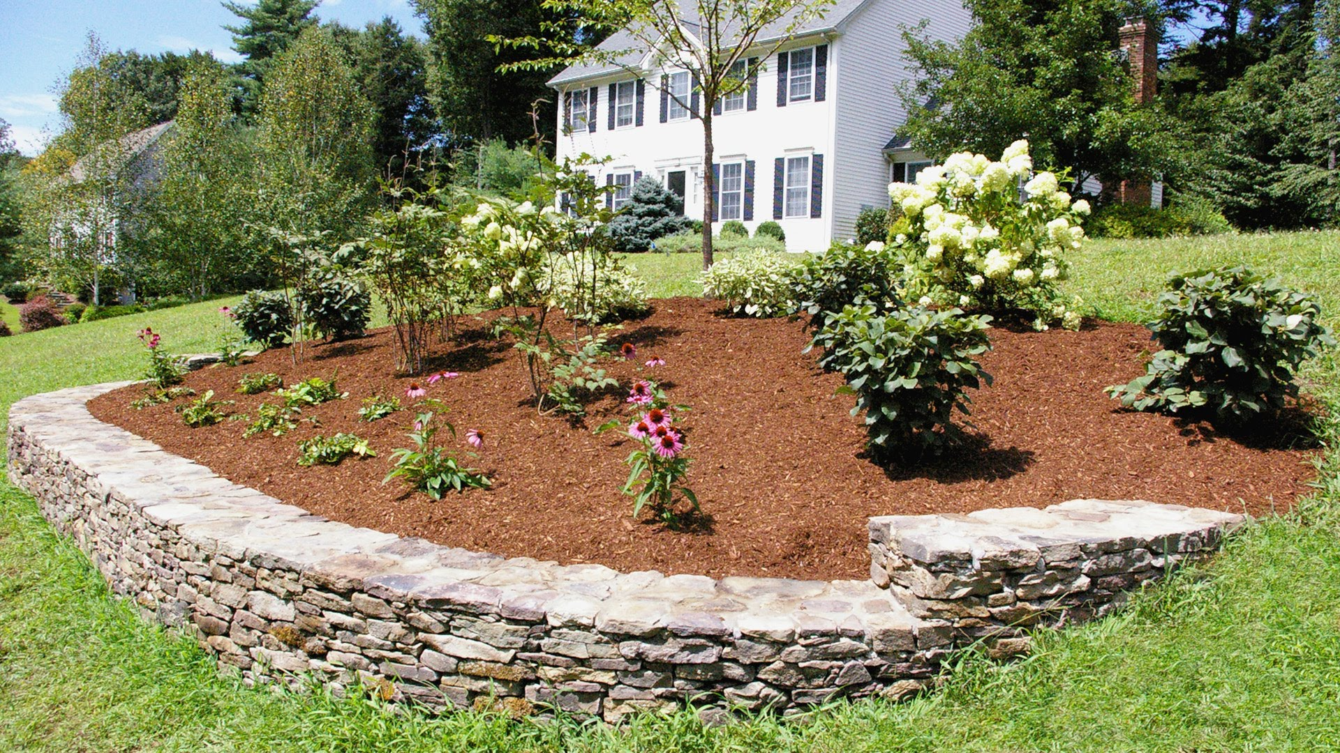 landscaping ideas for front yard landscaping ideas for a front yard: a berm for curb appeal - MCVZNOV