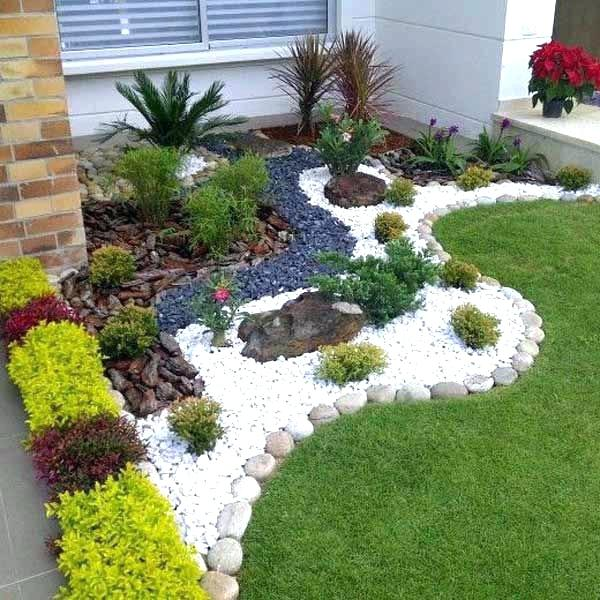 landscaping with rocks landscaping ideas with rocks landscape rocks gravel front yard landscaping  with WHLAQKM