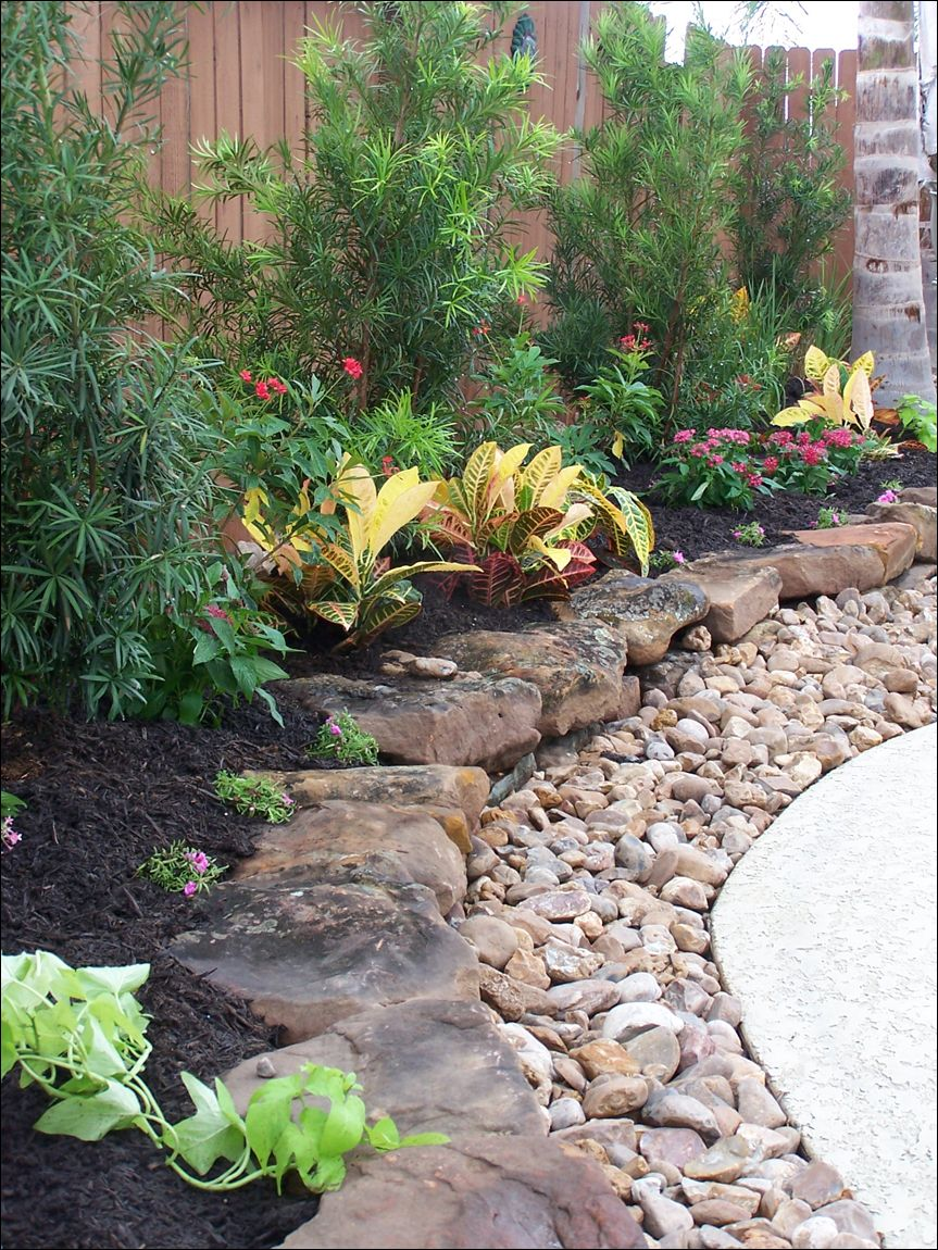 landscaping with rocks rocky levels - small rocks form the initial layer of the garden, ZJHDRUW