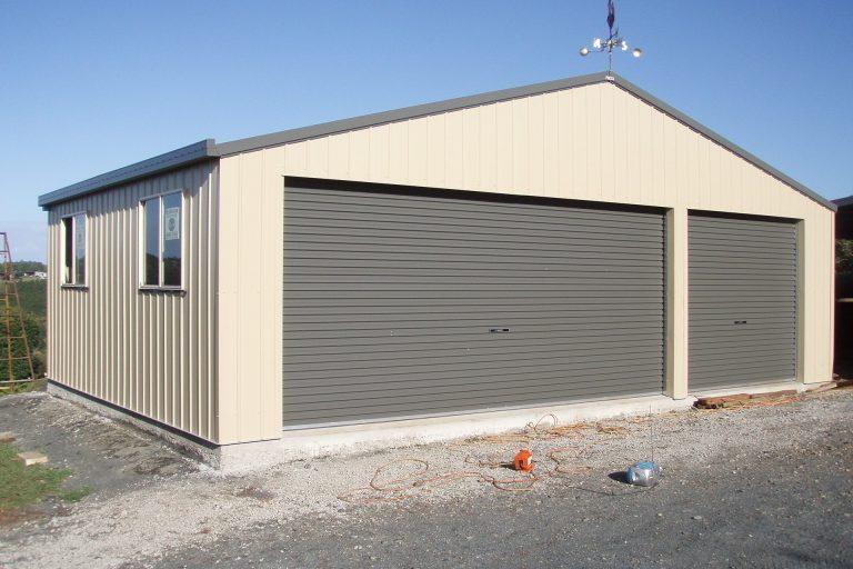 large garage sheds SPBKIKF