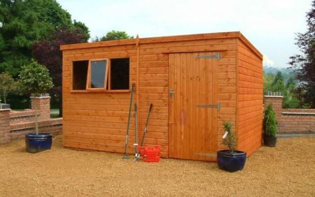 large garden sheds 16 x 10 heavy duty pent large shed LTZVMHD
