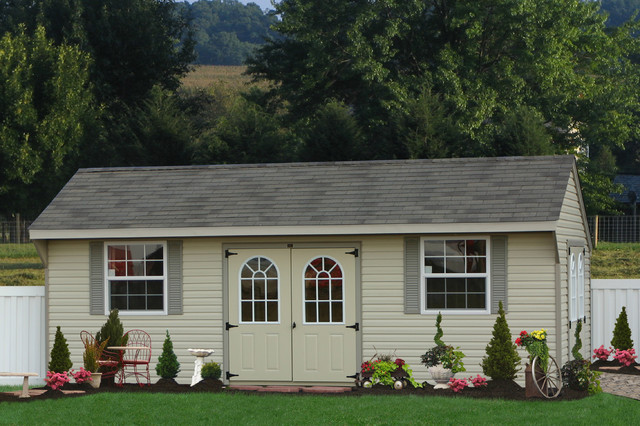 large shed large vinyl shed for delaware traditional-shed IWDZNOT