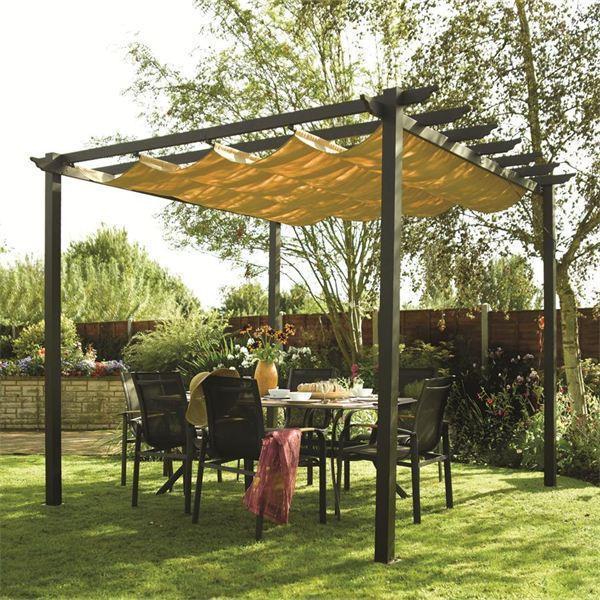 latina aluminium pergola | garden sun canopy EFVIIHB
