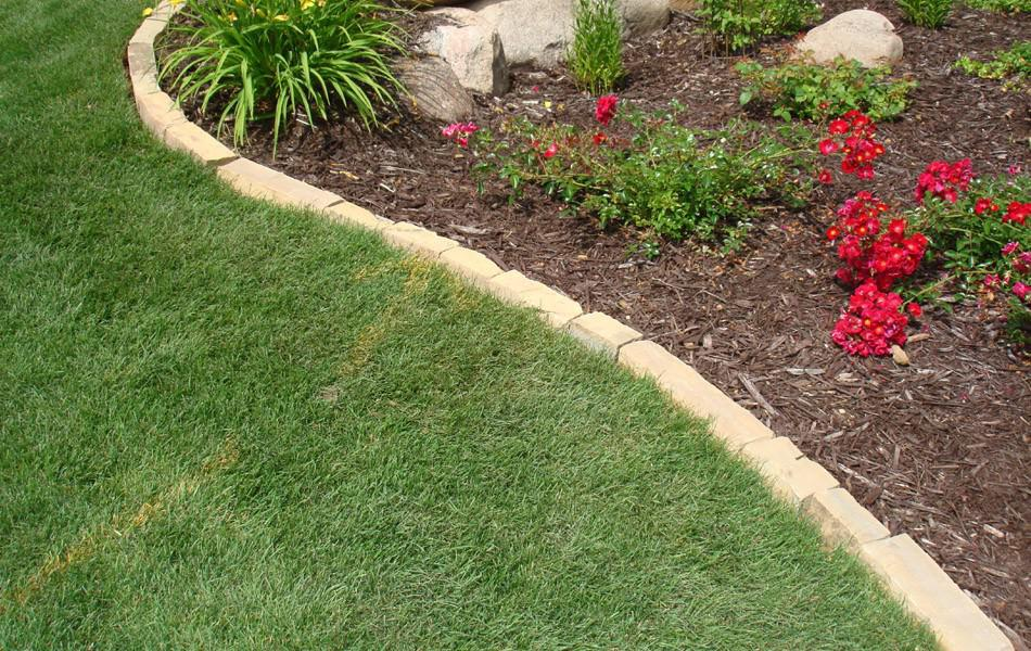 lawn edging ideas to keep grass out TIRJVRE