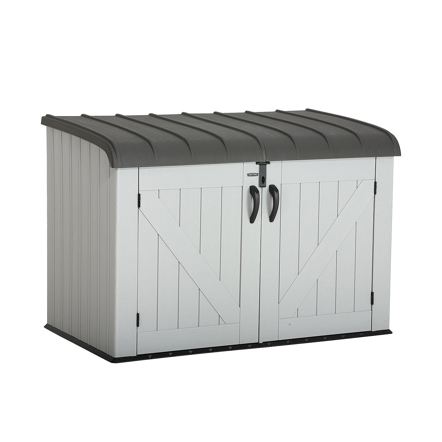 lifetime 6x3.5 plastic outdoor storage unit MOPWKFB