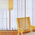 Unique Characteristics Fabric vertical blinds
