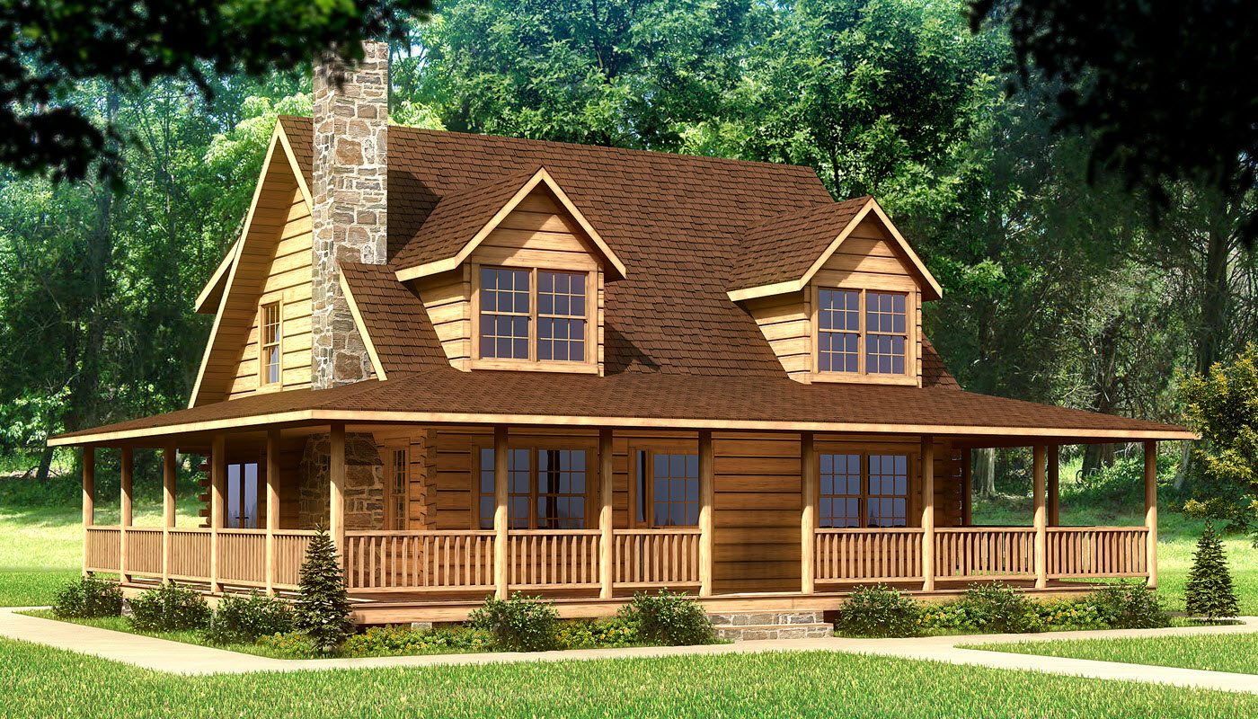 log home plans beaufort - plans u0026 information | southland log homes KKLHAUI