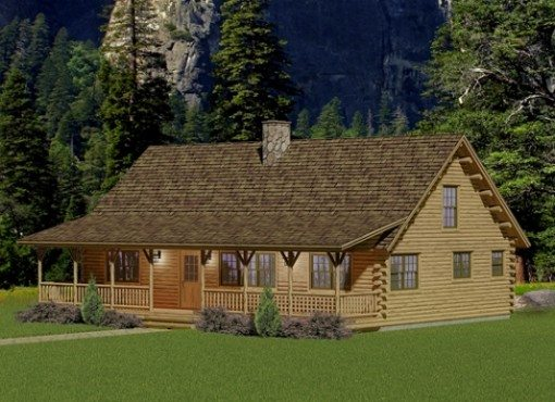 log home plans berwick XQBHRLL