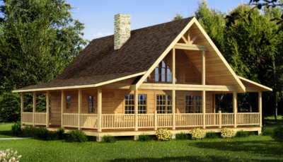 Gains of embracing log home plans