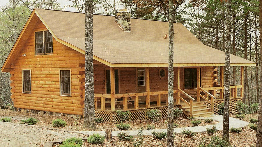 log home plans the carolina is a very popular log home design with 1286 sq. INJZRKU