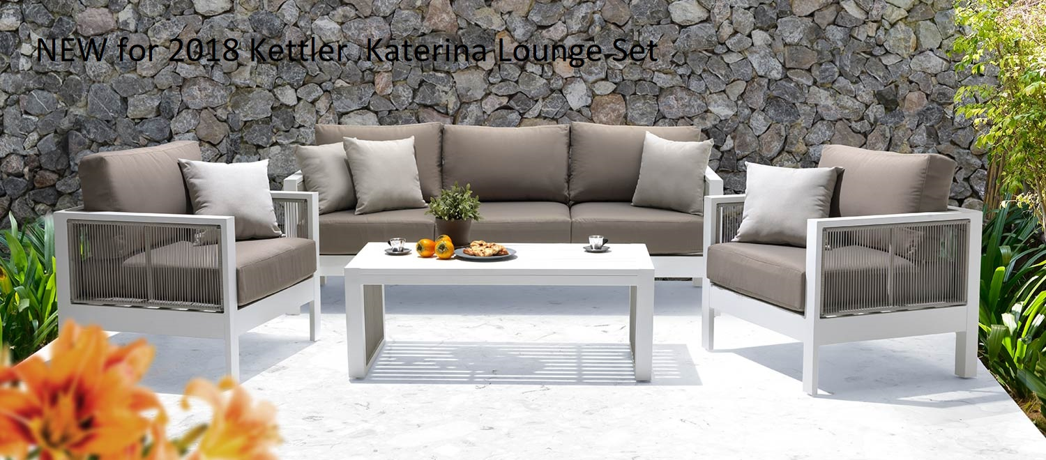 luxury garden furniture kettler katrina garden sofa set BPPHDNL