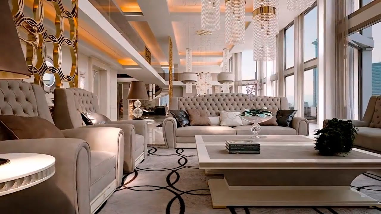 Trends of luxury interior design in the twenty first century