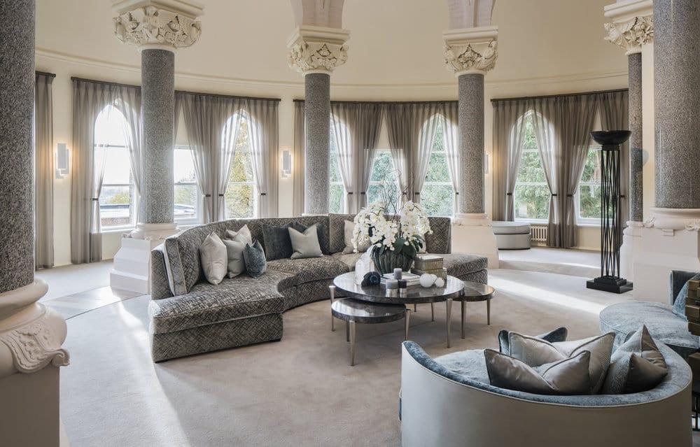 luxury interior design the chapel living area ULYEDAM