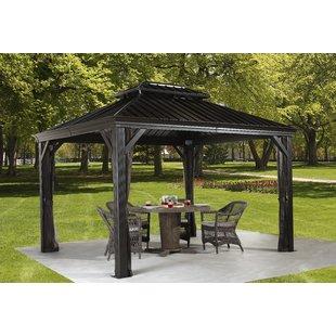 messina aluminum patio gazebo SJTWPRA