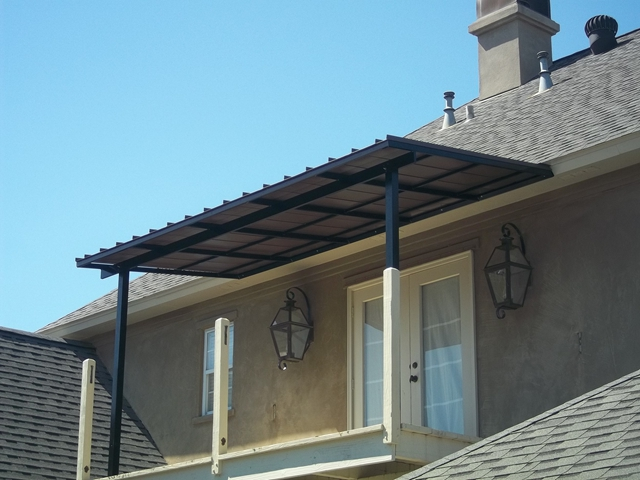 metal awning ... patio center - metal awnings - residential ... HDCXLKG