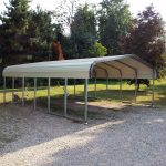 Nature of a metal carport