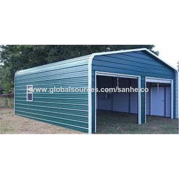 metal carport ... china steel square tube frame lowes metal flat roof portable metal BDHWWQH