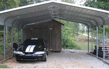 metal carport here is a rounded style carport with taller height than usual which VWBNGZU