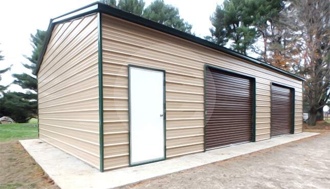 Constructing A Metal Garage And Its Numerous Uses