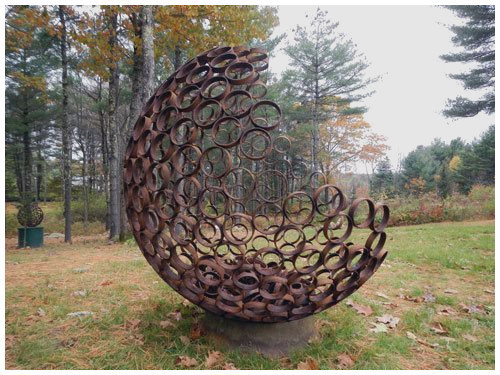 metal garden art metal garden figures new nearly sphere fine art photography metal sculpture garden OKRFGYN