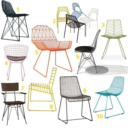 metal garden chairs JLZCYKZ