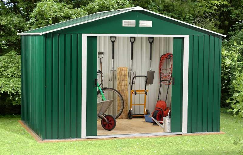 metal garden sheds metal storage sheds store choice budget QBGYTLL
