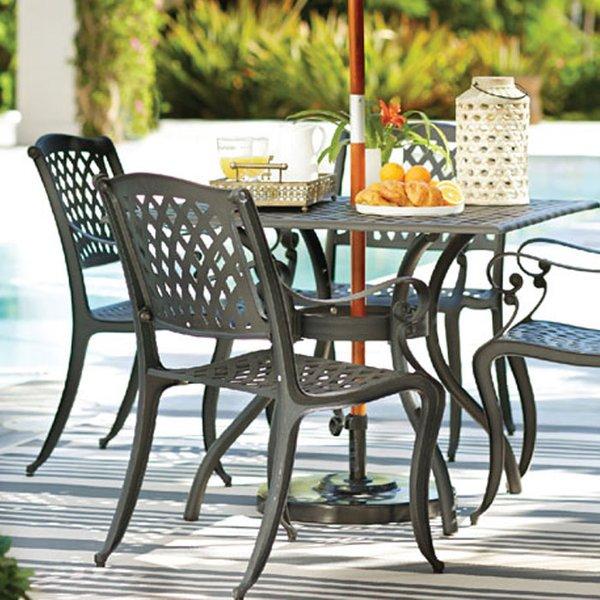 metal outdoor furniture metal patio furniture youu0027ll love | wayfair HUVUPOF