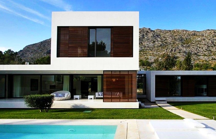 Find a minimalist house design