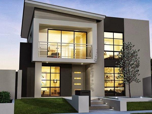 minimalist house design elegant exterior for 2 storey minimalist house QEAPYFS