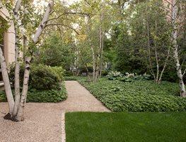 modern garden hoerr schaudt garden in chicagou0027s lincoln park hoerr schaudt chicago, ... TZMVLUI