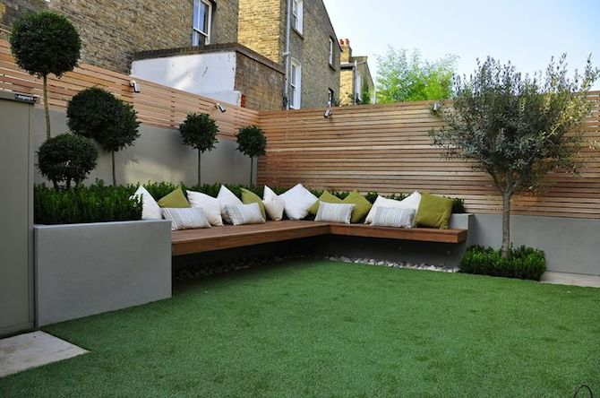 modern gardens modern garden - outdoor comfort HHPCTTK