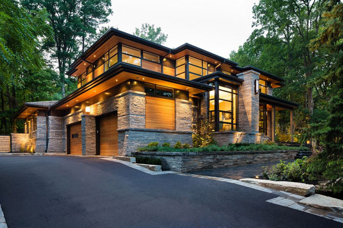 modern home architecture with traditional touch XQKROAE