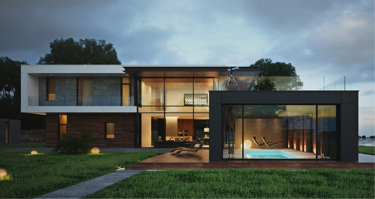 modern house designs modern home exteriors with stunning
