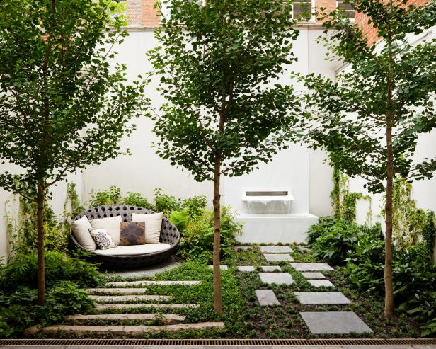 Choose Modern landscape design which is Refreshing